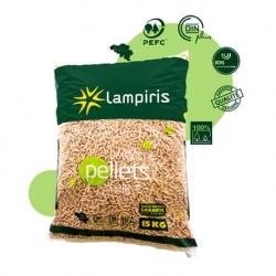 Pellets Lampiris – Palette de 975 Kg