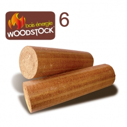 Bûches Woodstock 6 – Palette de 900 Kg