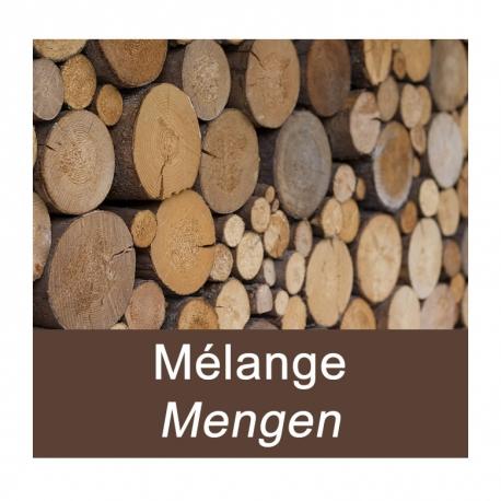 Mélange bois feuillus – Palette de 3 stères