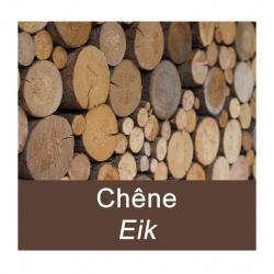Eik houtblokken – Pallet van 3 m³